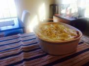 shepards pie with sun