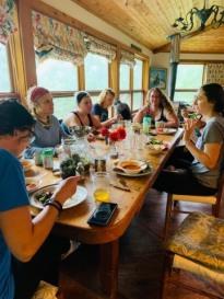 TMGR dinner table