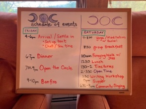 TMGR schedule